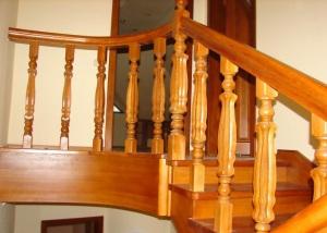Перила для межэтажной лестницы